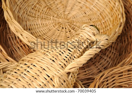 Natural handcrafted objects - stock photo