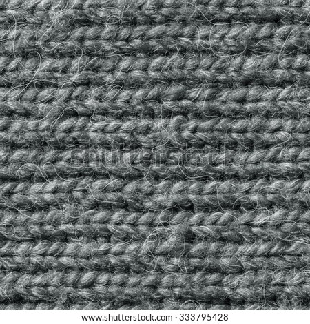 Natural Knitted Wool Background./ Natural Knitted Wool Background - stock photo