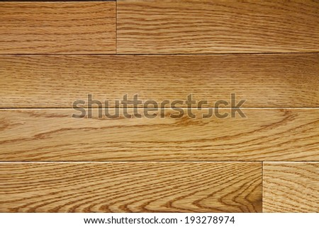 Natural Laurel Oak Flooring - stock photo