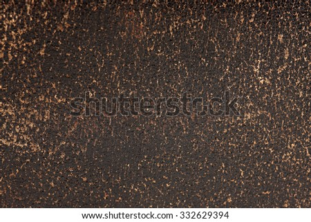 natural leather as a background enlarged, close-up - stock photo