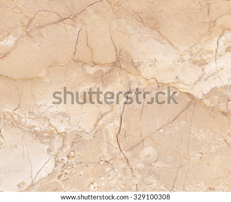 Natural Light Brown Marble - stock photo