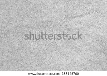 Natural light gray suede texture as background. - stock photo