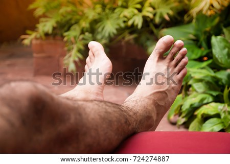 hairy legs pic legs stock images royalty free images vectors 8631