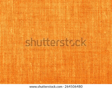 Natural linen canvas background texture grid - stock photo