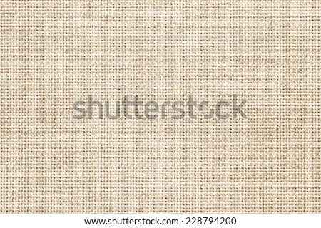 Natural linen fabric texture for the background. - stock photo