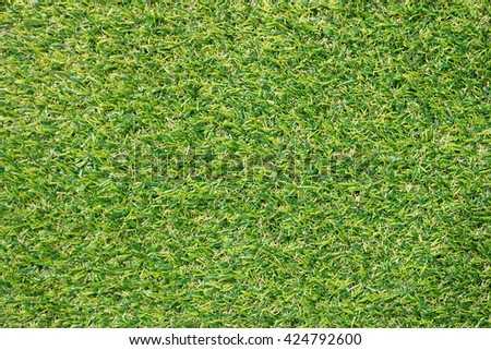 Natural Lush Green Artificial Grass Floor Texture Background for Put Your Text or Made to Background