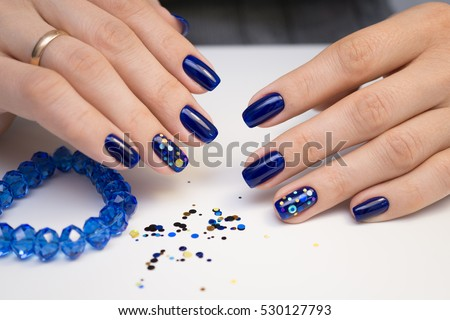 Natural Nails Gel Polish Perfect Clean Stock Photo Edit Now
