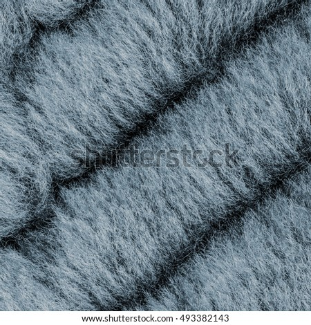 natural painted blue fur texture closeup Can be used for background