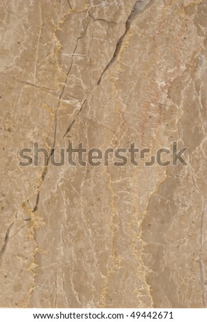 Natural patterns of the marble Loupinnes Fleuri polished - stock photo