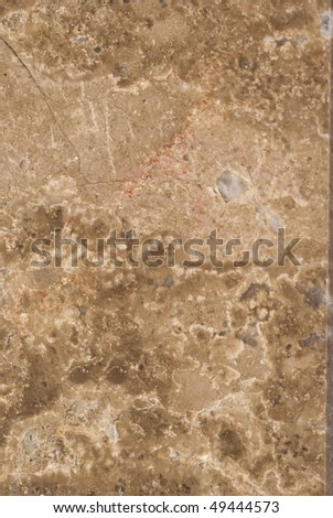 Natural patterns of the marble Loupinnes polished finish - stock photo