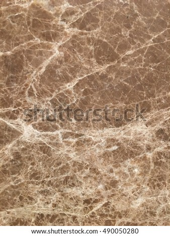 Natural Polished Brown marble stone texture