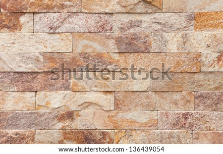 Natural red marble pattern, close up shot - stock photo