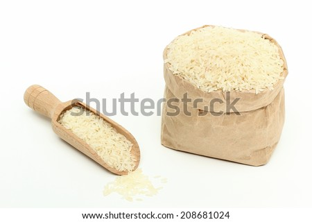 natural rice background