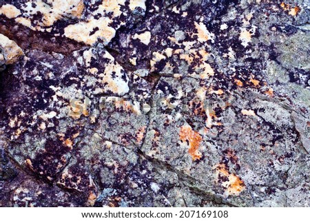 Natural rock texture pattern
