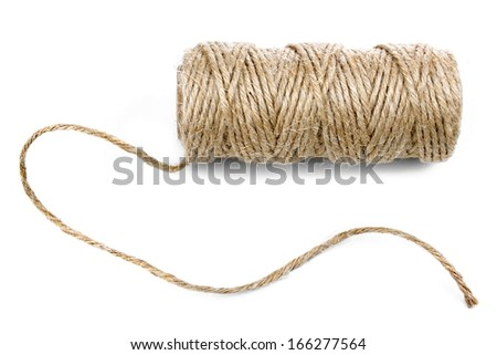 Natural rope - stock photo