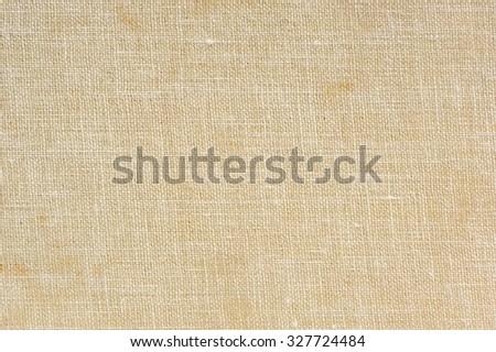 Natural Sackcloth Texture Macro - stock photo