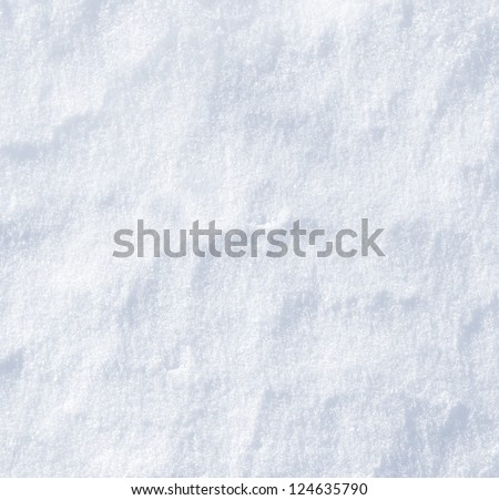 Natural snow background - stock photo