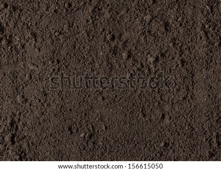 natural soil texture - stock photo