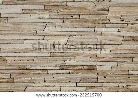 Natural stone, abstract stone work Wall.  Background and Texture brick wall