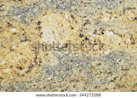 Natural stone background in macro