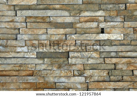 natural stone pieces tiles for walls stock photo