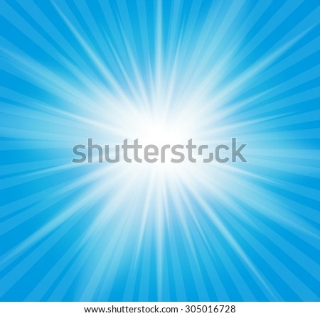 Natural Sunny  Background  Illustration