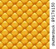natural surface texture of the pineapple made in the form of a yellow background.raster version - stock photo