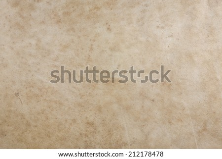Natural tan leather texture - stock photo