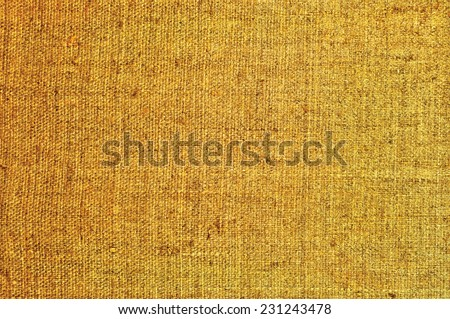 Natural textured horizontal grunge burlap sackcloth hessian sack texture, grungy vintage country sacking canvas, large detailed macro background closeup - stock photo