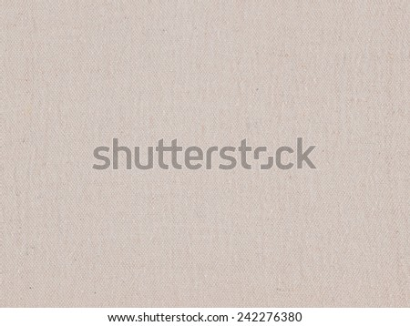 Natural untreated cotton background texture - stock photo