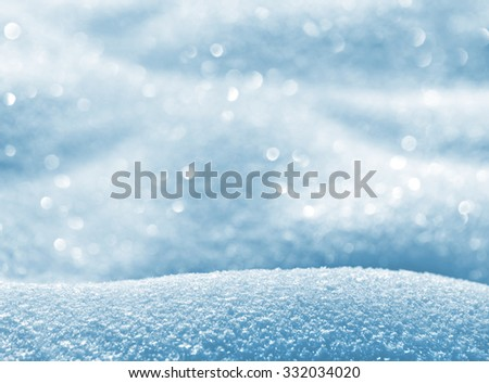 Natural winter background with snow shiny drifts  - stock photo