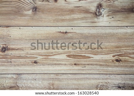 Natural Wood Background. Rustic - stock photo