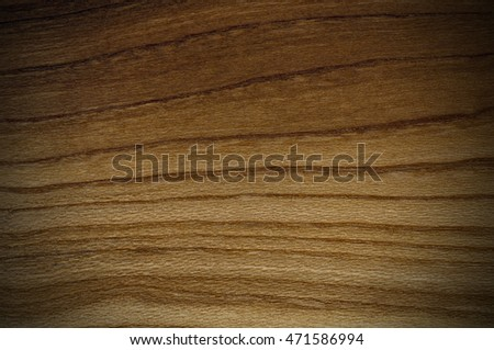 Natural Wood Texture Background. Almond Tree Wood Grained Texture. Dark Wooden Background.