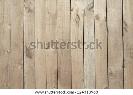 Natural wooden background - stock photo