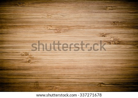 Natural Wooden Desk Background, Texture - stock photo