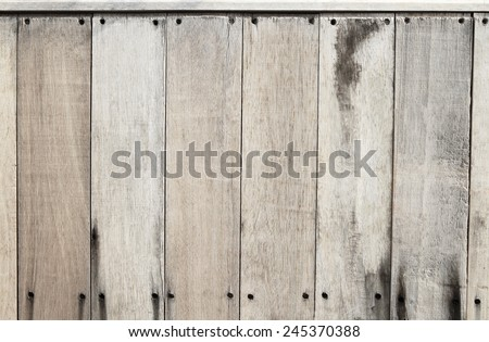 Natural wooden texture and background - stock photo