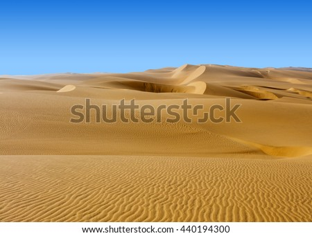 Nature and landscapes of desert.  - stock photo