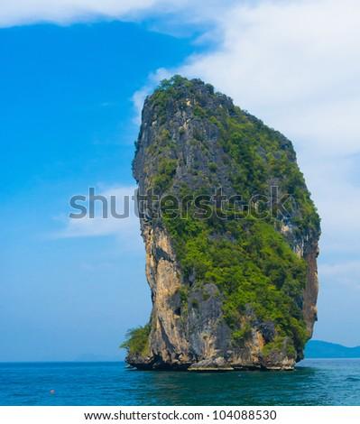 Nature And Nobody Idyllic Seascape - stock photo