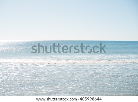 Nature beach landscape outdoor background