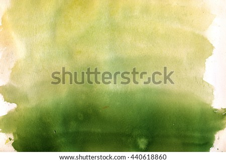 nature green watercolor background