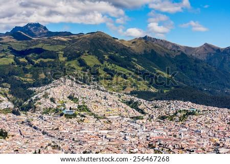 Nature of Cotopaxi  (Cotopaxi Province, Napo Province and Pichincha Province), Ecuador - stock photo