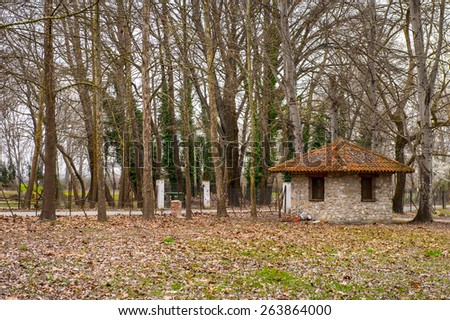 Nature of Dion, Greece - stock photo