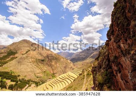 Nature of Peru - stock photo