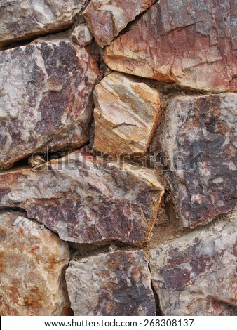 Nature Texture of stone wall that made from marble and granite