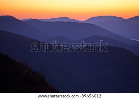Nautical Sunrise at Pretty Place, North Carolina - stock photo