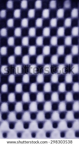 Navy blue abstract pattern foam chess texture background pattern - stock photo