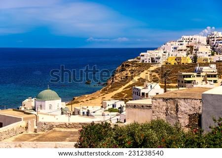Naxos Island. - stock photo