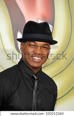 "Ne-Yo  at the ""The Princess And The Frog"" World Premiere, Walt Disney Studios, Burbank, CA. 11-15-09 - stock photo"