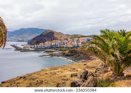 Near Canical - in the east of Madeira