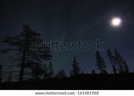 Near Gaellivare, Lapland, Norrbotten, Sweden - stock photo